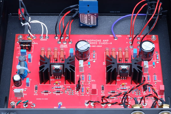 DIY Audio T2 headphone amp by Mark Johnson