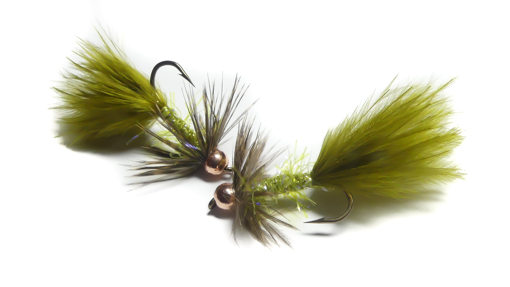 Saddle Bugger - UV Olive