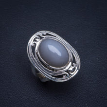 Natural Cat Eye Handmade Unique 925 Sterling Silver Ring 6.25 B1082