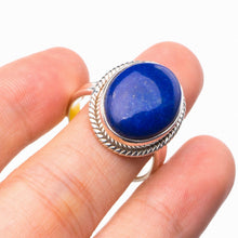 StarGems Natural Lapis Lazuli Handmade 925 Sterling Silver Ring 7.25 E2429