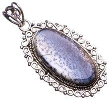 "Natural Dendritic Opal Handmade Unique 925 Sterling Silver Pendant 2"" X1420"