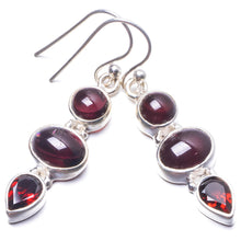 "Natural Amethyst Handmade Unique 925 Sterling Silver Earrings 1.5"" Y3753"