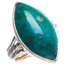 Natural Chrysocolla Handmade Unique 925 Sterling Silver Ring 6.75 Y4312