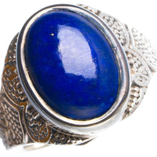 Natural Lapis Lazuli Handmade Unique 925 Sterling Silver Ring 7.75 Y4671