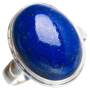 Natural Lapis Lazuli Handmade Unique 925 Sterling Silver Ring 5.5 Y4834