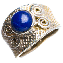 Natural Lapis Lazuli Handmade Unique 925 Sterling Silver Ring 6.25 Y4915