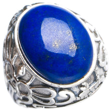 Natural Lapis Lazuli Handmade Unique 925 Sterling Silver Ring 5.75 Y4934