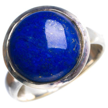 Natural Lapis Lazuli Handmade Unique 925 Sterling Silver Ring 7.25 Y5039