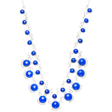 "Natural Lapis Lazuli Handmade Unique 925 Sterling Silver Necklace16.5+1"" Y5336"