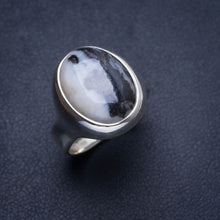 Natural Pinolith Jasper Handmade Unique 925 Sterling Silver Ring 6.75 Y4171