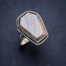 Natural Blue Fire Labradorite Handmade Unique 925 Sterling Silver Ring 8.75 Y4421