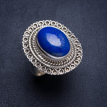 Natural Lapis Lazuli Handmade Unique 925 Sterling Silver Ring 6.25 Y5013
