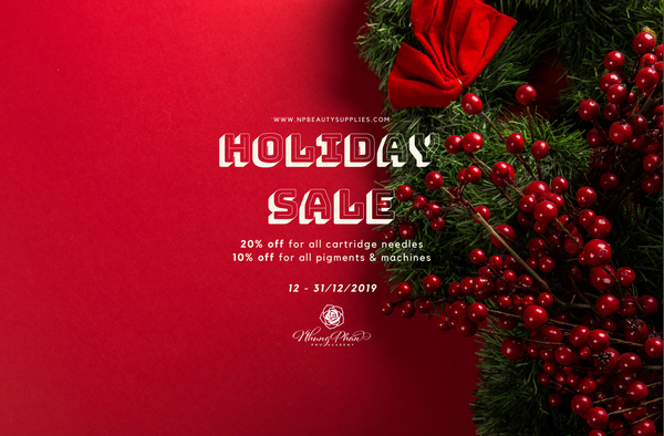 HOLIDAY SALE - DECEMBER 2019