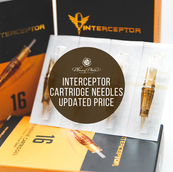 INTERCEPTOR CARTRIDGE NEEDLES UPDATED PRICE FOR 2020