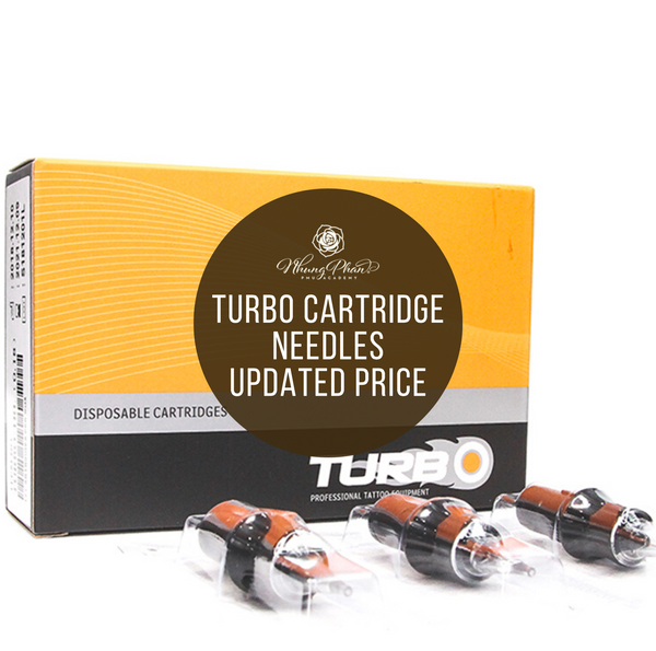 TURBO CARTRIDGE NEEDLES UPDATED PRICE FOR 2020