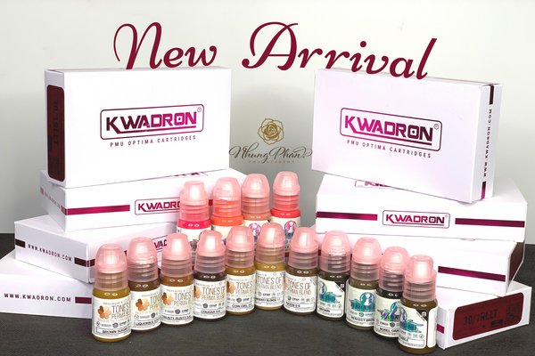 NEW PRODUCT ARRIVAL - KWADRON® CARTRIDGES & PERMABLEND PIGMENTS