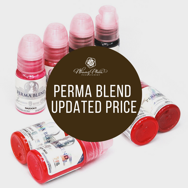 PERMA BLEND UPDATED PRICE FOR 2020