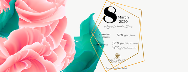 INTERNATIONAL WOMEN'S DAY 2020 PROMOTION