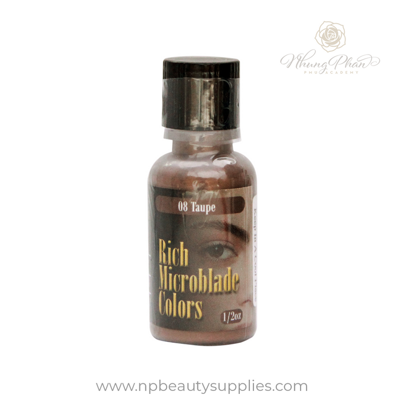Rich Microblade Colors - 08 Taupe