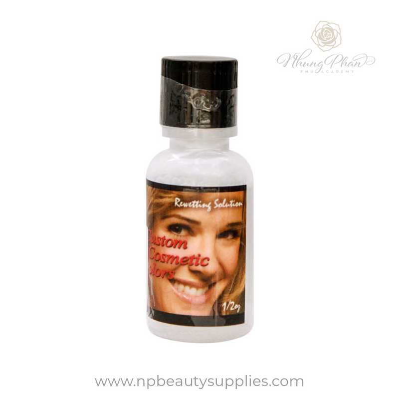 Custom Cosmetic Colors - Rewetting Solution