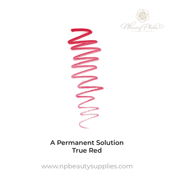 A Permanent Solution - True Red