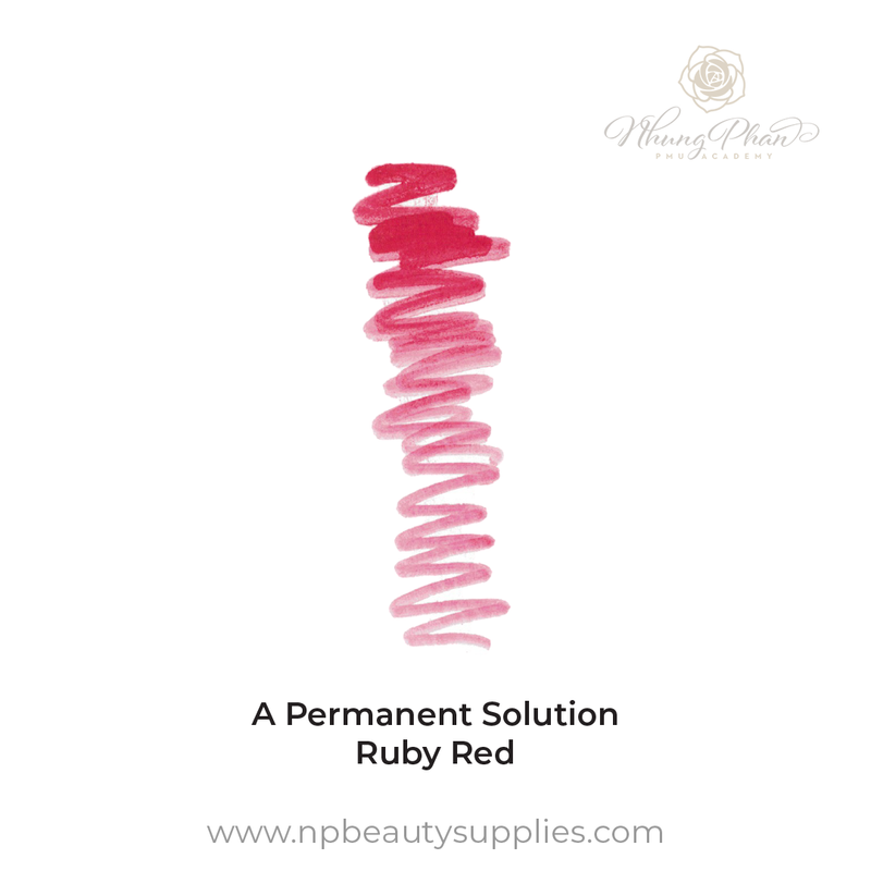A Permanent Solution - Ruby Red