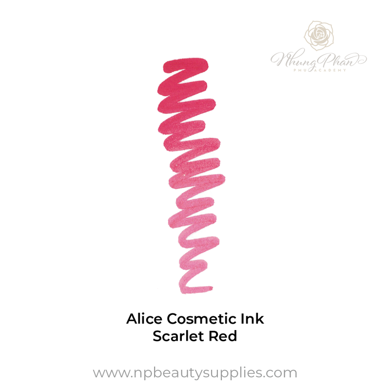 Alice Cosmetic Ink - Scarlet Red