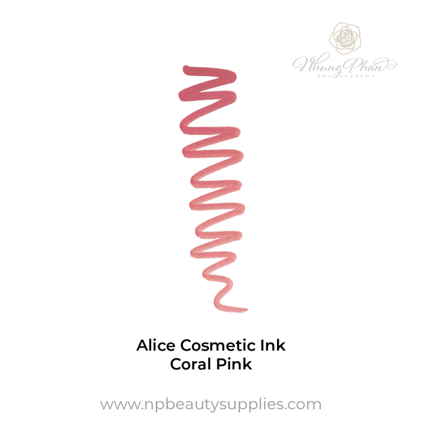 Alice Cosmetic Ink - Coral Pink
