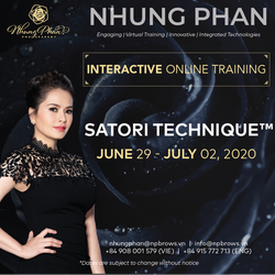 SATORI TECHNIQUE™️ - INTERACTIVE ONLINE TRAINING 29/06 - 02/07/2020 (no KIT included)