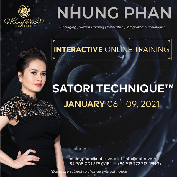 SATORI TECHNIQUE™️ - INTERACTIVE ONLINE TRAINING 06 - 09/01/2021 (KIT included)