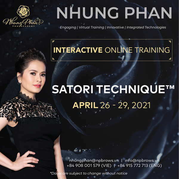 SATORI TECHNIQUE™️ - INTERACTIVE ONLINE TRAINING 26 - 29/04/2021 (KIT included)