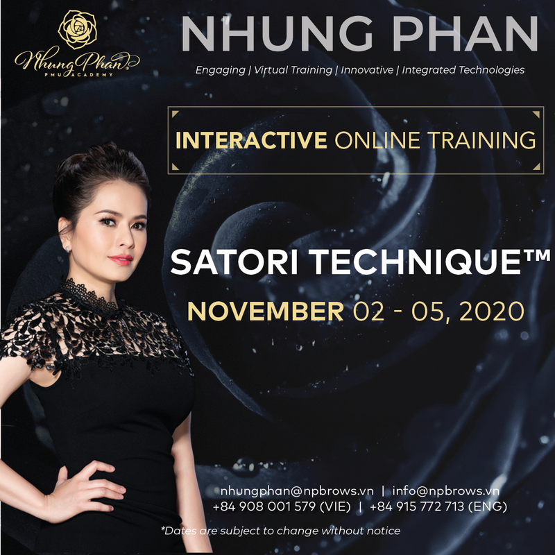 SATORI TECHNIQUE™️ - INTERACTIVE ONLINE TRAINING 02 - 05/11/2020 (KIT included)