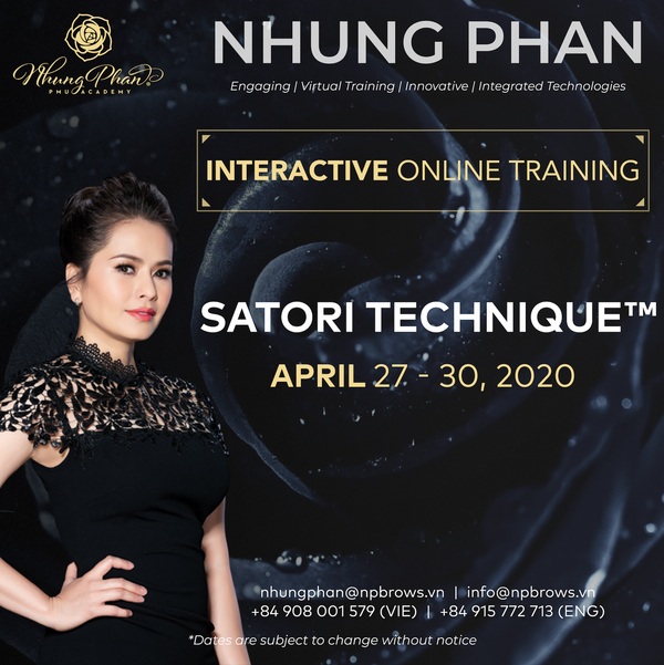 SATORI TECHNIQUE™️ - INTERACTIVE ONLINE TRAINING 27 - 30/04/2020 (no KIT included)