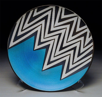 #27 Zig Zag with Blue