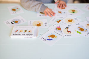 Alphabet Kiwi Flash Cards