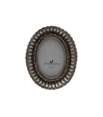 Fanned Oval Photo Frame