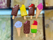 Load image into Gallery viewer, Kiwi Ice Cream Fridge Magnets