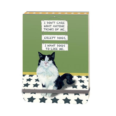 Little Dog Laughed Slim Notebook