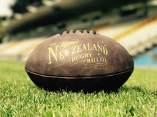 Load image into Gallery viewer, Antique Rugby Ball