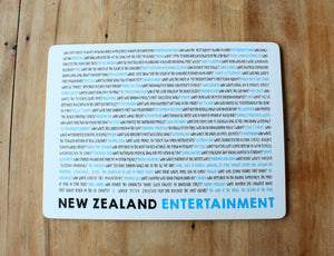 New Zealand Quiz Placemats