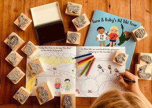 Tane and Ruby's Stamp Kit