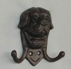 Dog double key hook