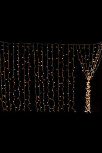 860 LED Fairy Light Curtain 8m x 4m H