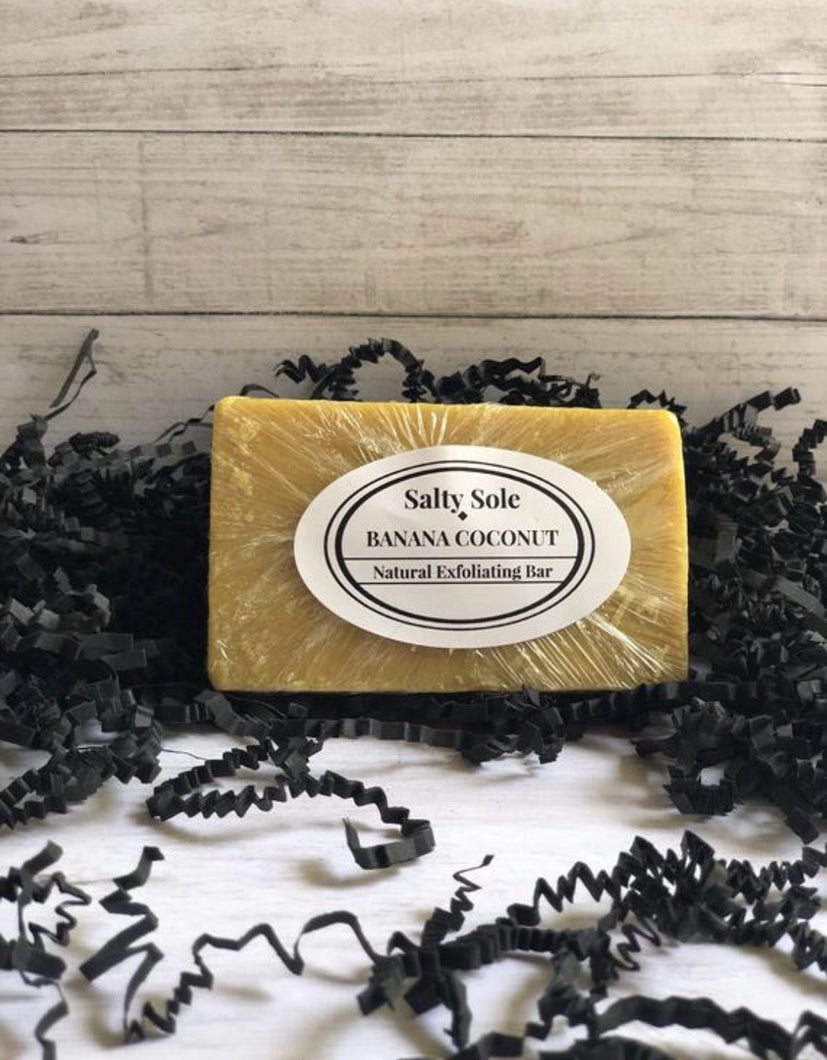 Banana Coconut Exfoliating Soap Bar