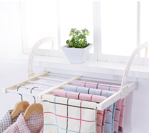 Multi-function drying rack Suitable for balcony windows