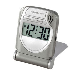 LCD Travel Alarm Clock