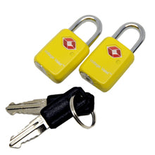 Load image into Gallery viewer, TSA Key Lock Set (2 Pack)