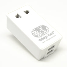 Load image into Gallery viewer, PAU Adapter Plug With 2 Port USB | North, Central and South America