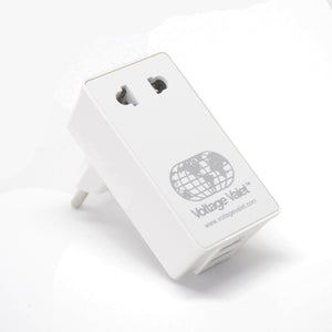 Adaptor Plug With 2 Port USB - PBU | Continental Europe