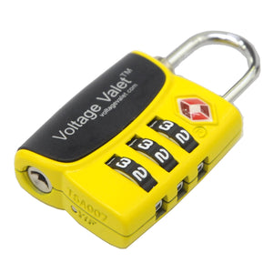 3 Dial TSA Indicator Combination Lock